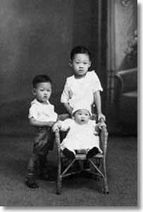 lee kuan yew childhood